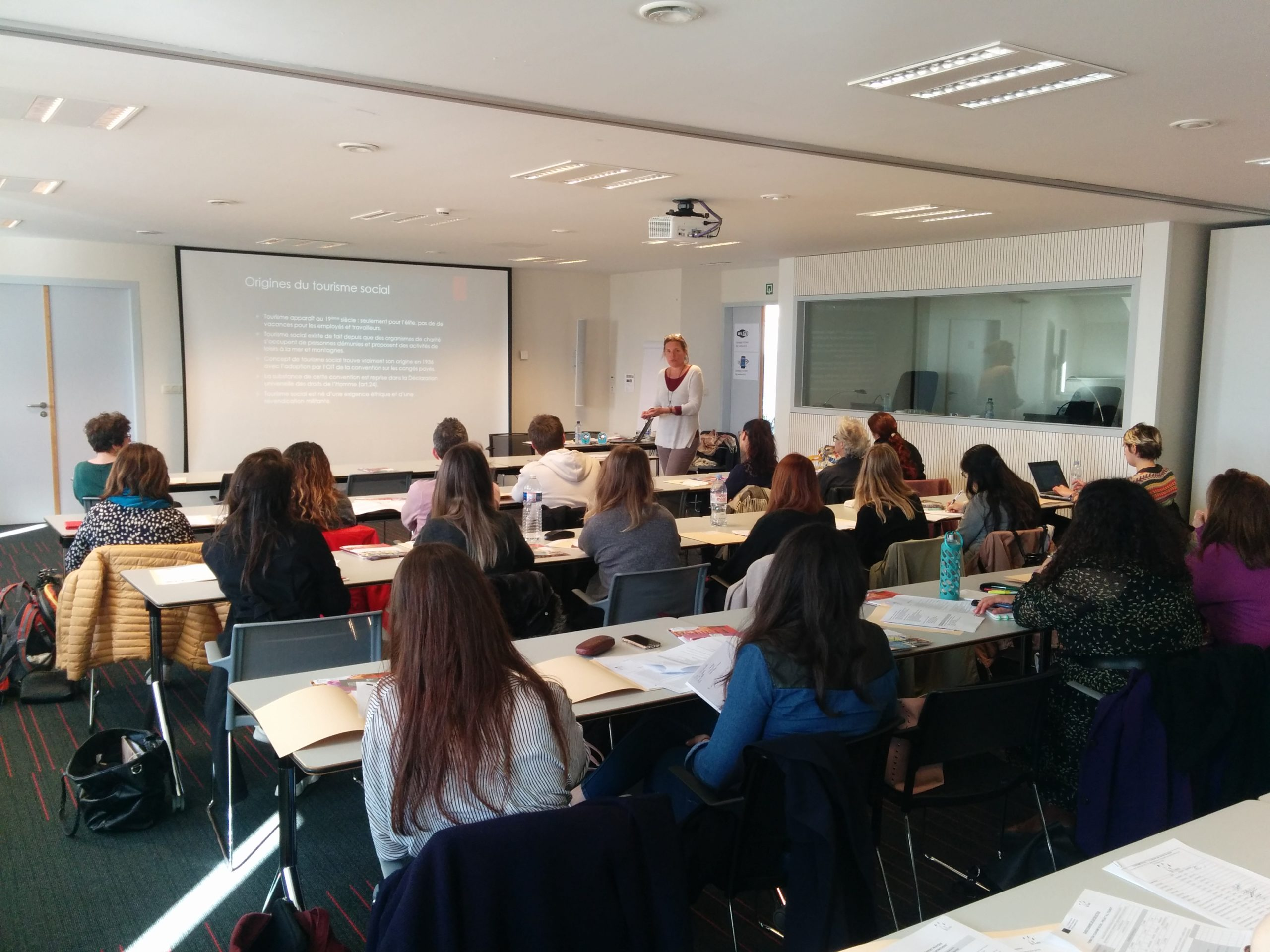 Formation ISTO - ULB Erasmus+