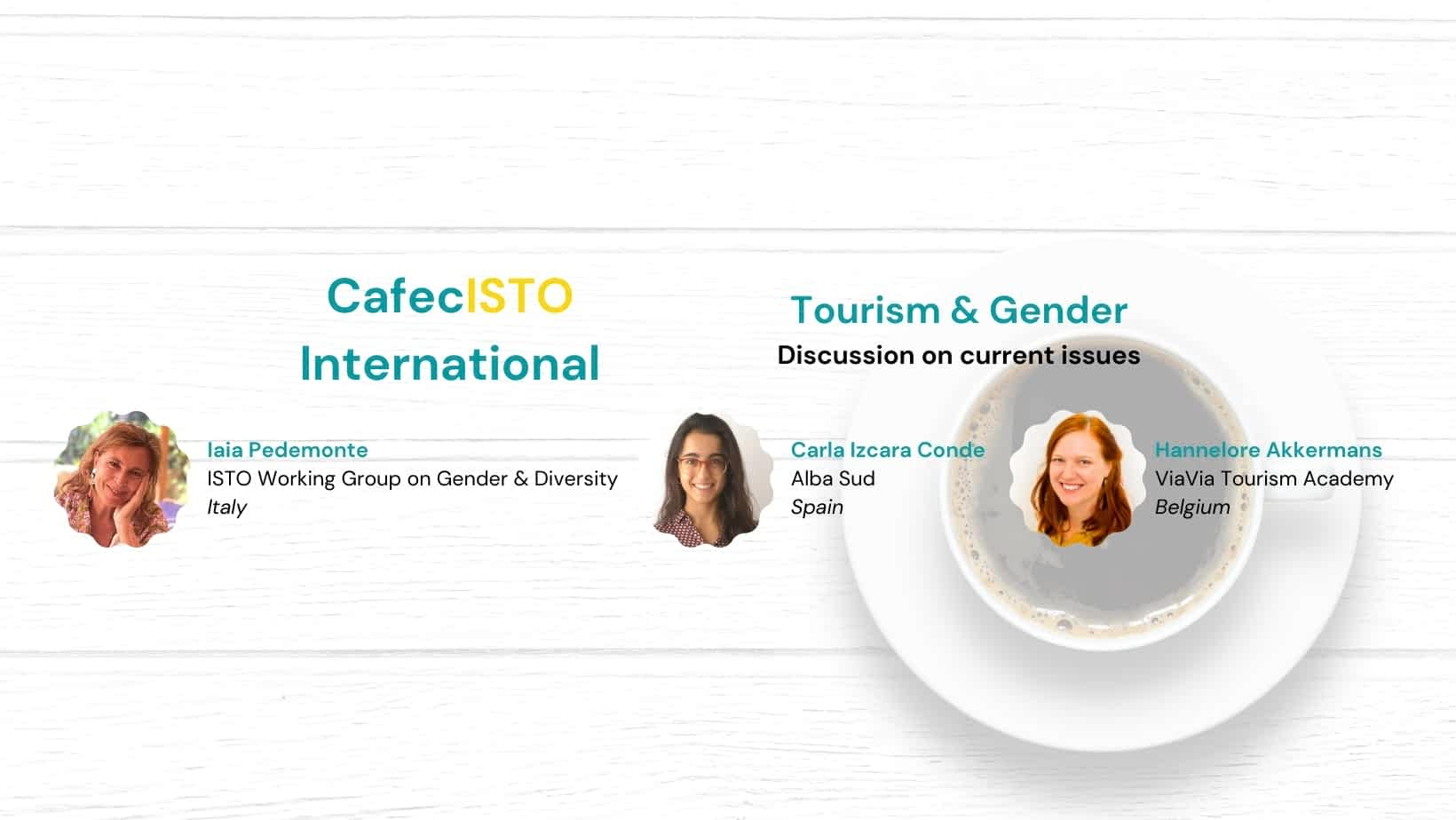 CafecISTO International: Tourism & Gender
