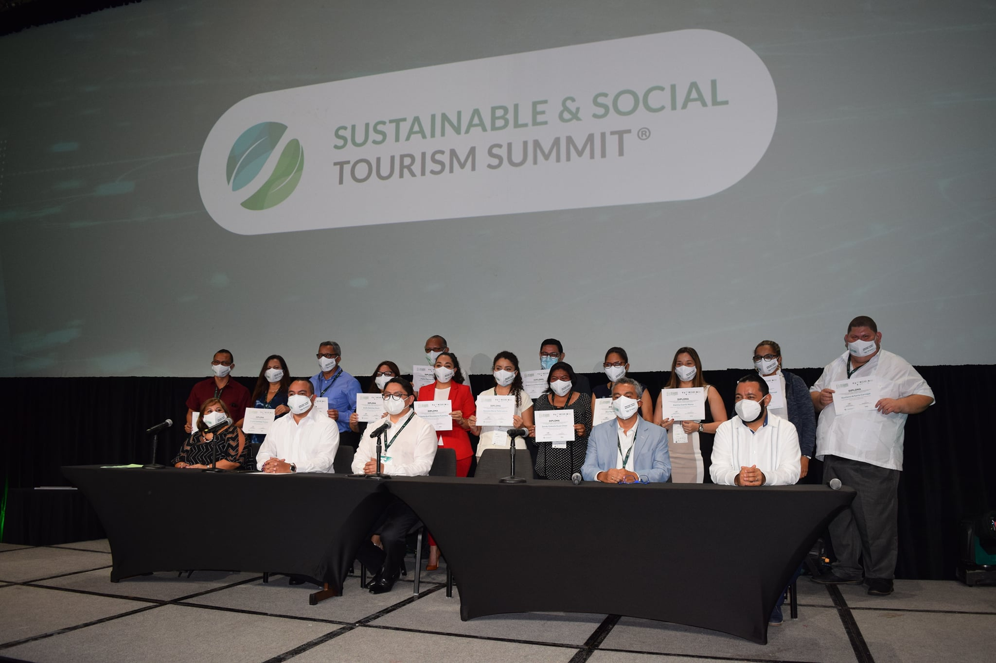 At the Sustainable & Social Tourism Summit, the Diploma in Sustainable and Social Tourism concluded successfully